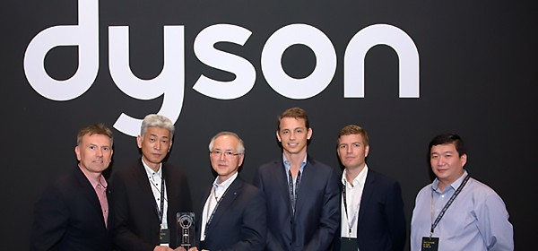 Partnership Award from Dyson